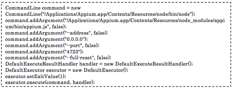 How To Start Appium Server