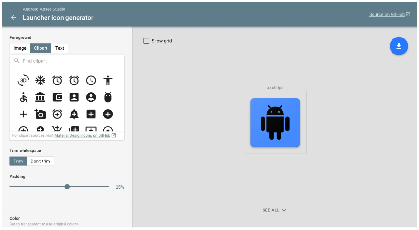 Android-Asset-studio