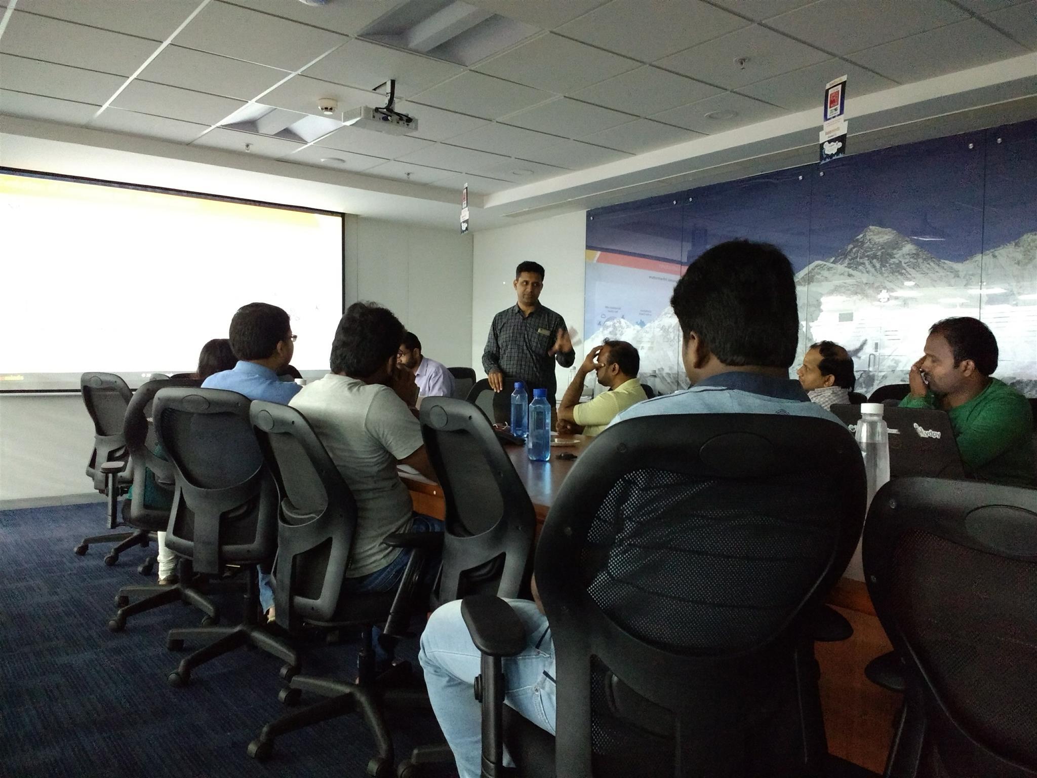 Innominds hosts a Meetup on 'Serverless Computing - A closer look at AWS Lambda'