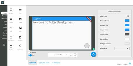How to use Flutter Studio
