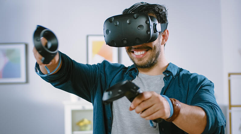 Provide best immersive experience for VR gaming users