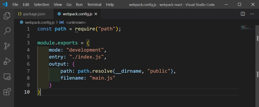 webpack-config-js