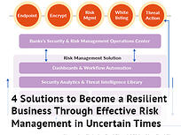 Ready to use solutions for risk management