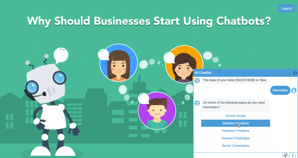 Business Transformation using Chatbots as a Solution