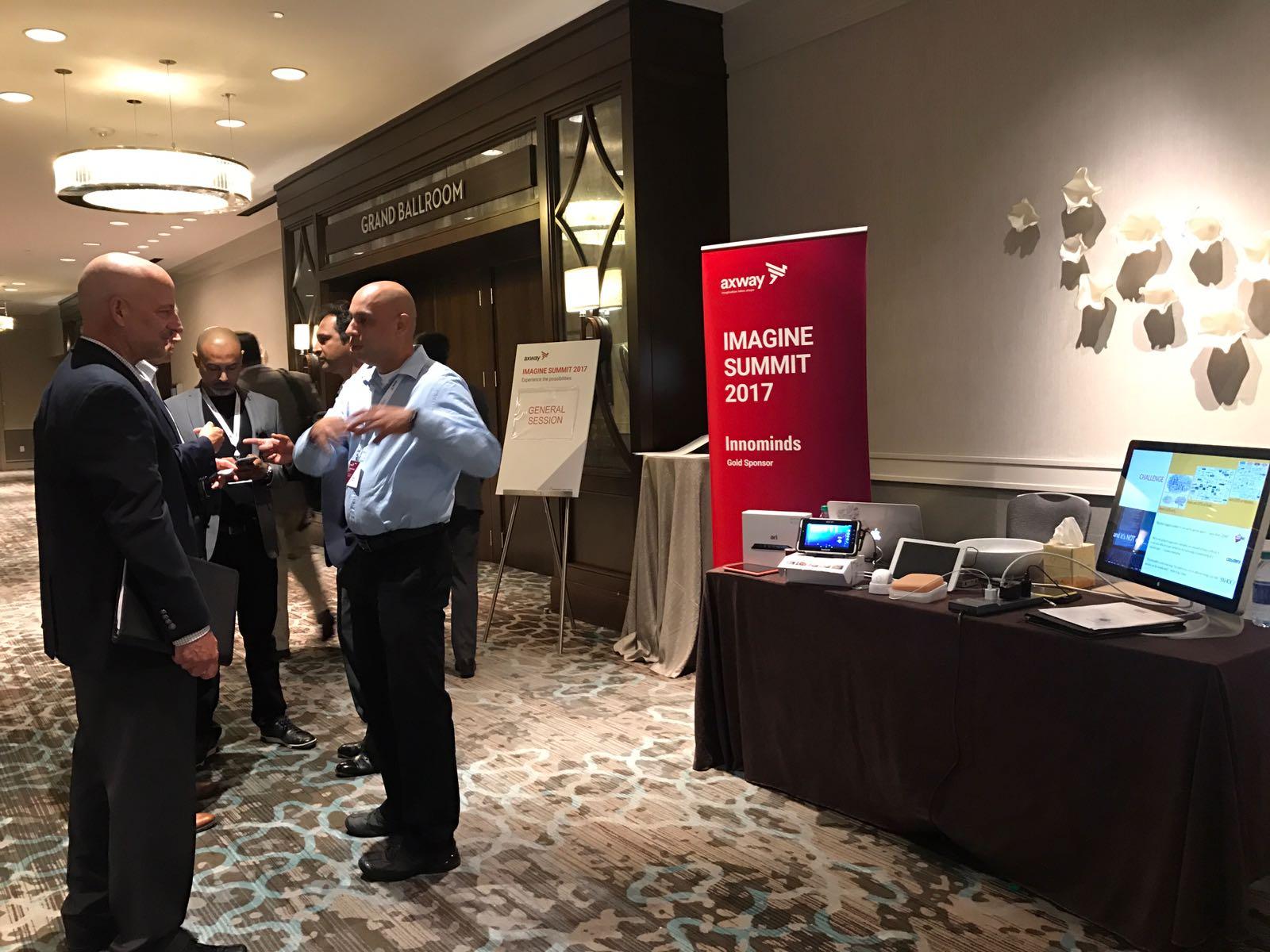 Navdeep Singh speaks on Cloud and DevOps Trends at Axway Imagine Summit 2017 Atlanta