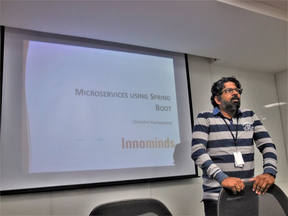 "Innominds conducts Tech Meetup on ""Microservices Using Spring Boot"""