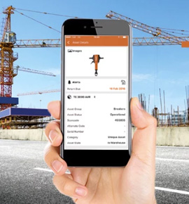 Case-Study - Cloud-based asset tracking mobile app for Construction site